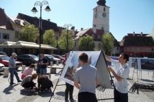Expozitie foto Sibiu 27-29 aprilie 2012 Piata Mica