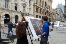 Photo exhibition Bucharest 18-20 May 2012 Lipscani area