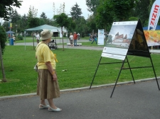 Photo exhibition in Brasov,Tractorul Park